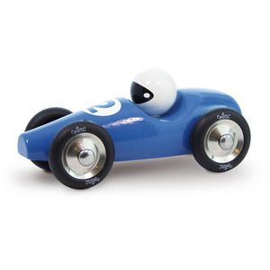 Is This The Year To Buy Them Their First Car This Hardwood Blue Race Car Is Ready To Race And Is Recommended For Ages 12 Month Toy Car Award Winning Toys Toys