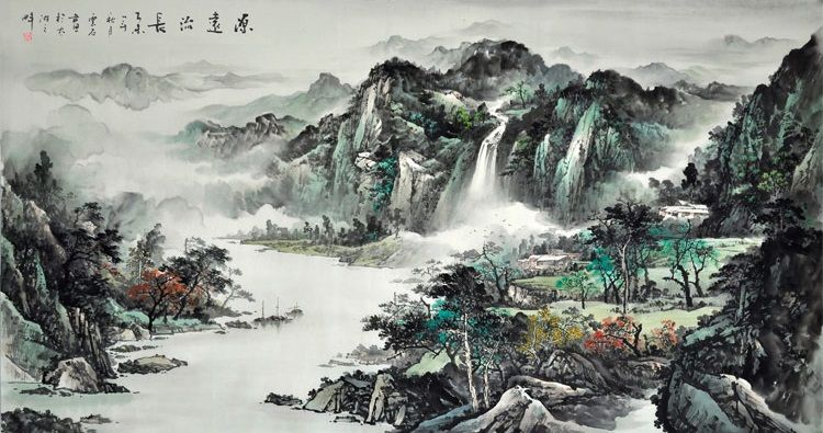 Nature Art Painting For Sale Classic Best Chinese Beautiful Landscape Painting