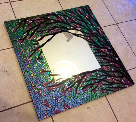 espejo mosaico grandes vitrales hechos a por