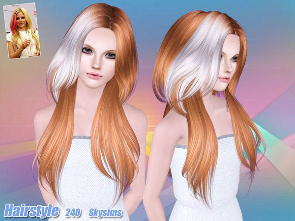 Skysims Hair 240 Set Sims Hair Sims Mods Sims