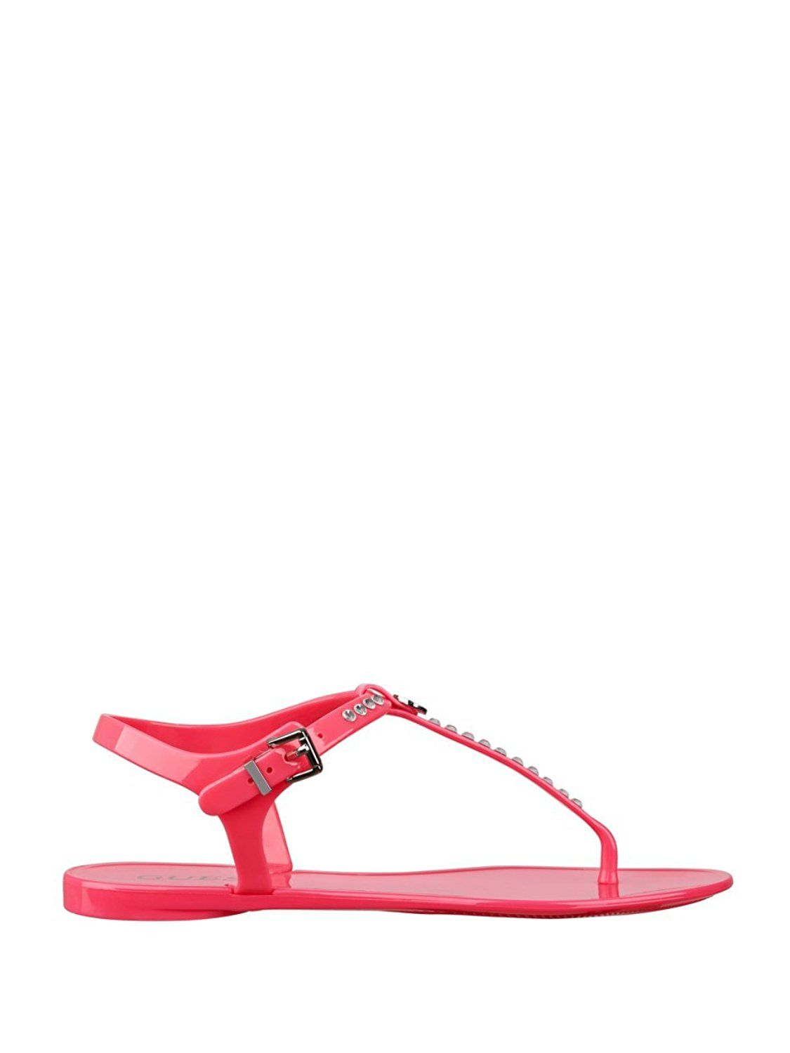 9c1f97dc7 GUESS Jasera T-Strap Sandals   You can find out more details at the link of  the image.