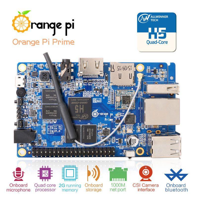 Orange Pi PC 2 H5 Quad-core 64bit Cortex A53 Ubuntu Linux And Android Mini PC