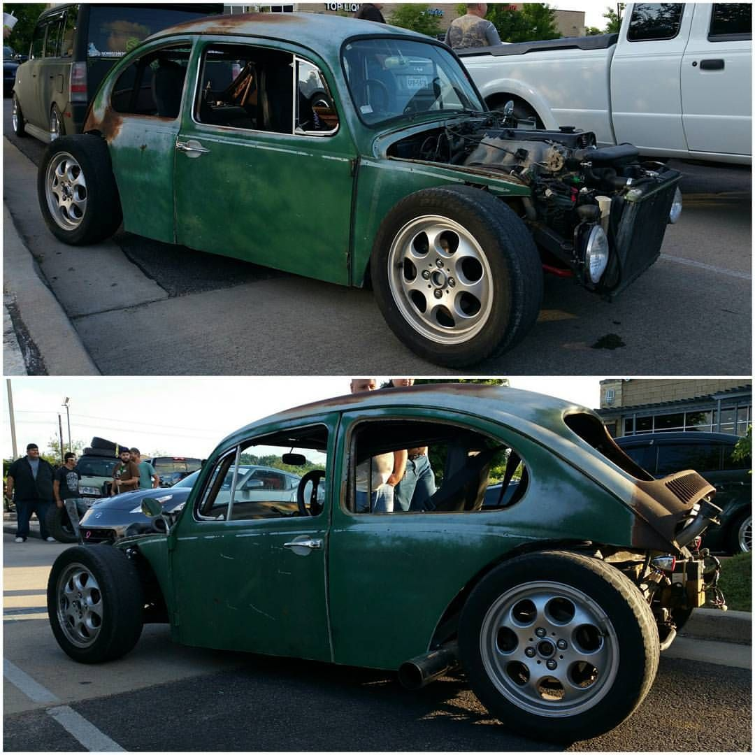 Beetle shell + custom tube chassis + miata driveline = best car ever