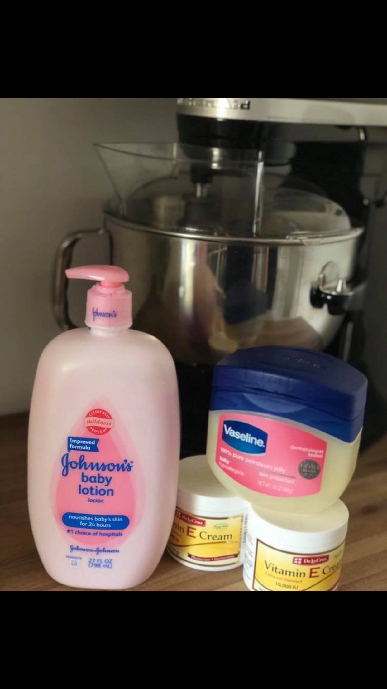 Winter skin remedy! Pour, mix and store! Winter skin