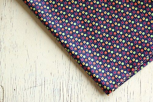 Fabric Dots coordinates with Studio Mick's Summer Trip Collection sewing, cotton, viscose
