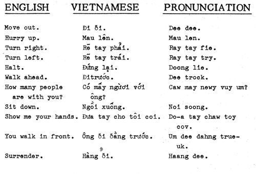 Vietnamese Language Vietnamese Words Vietnamese Language
