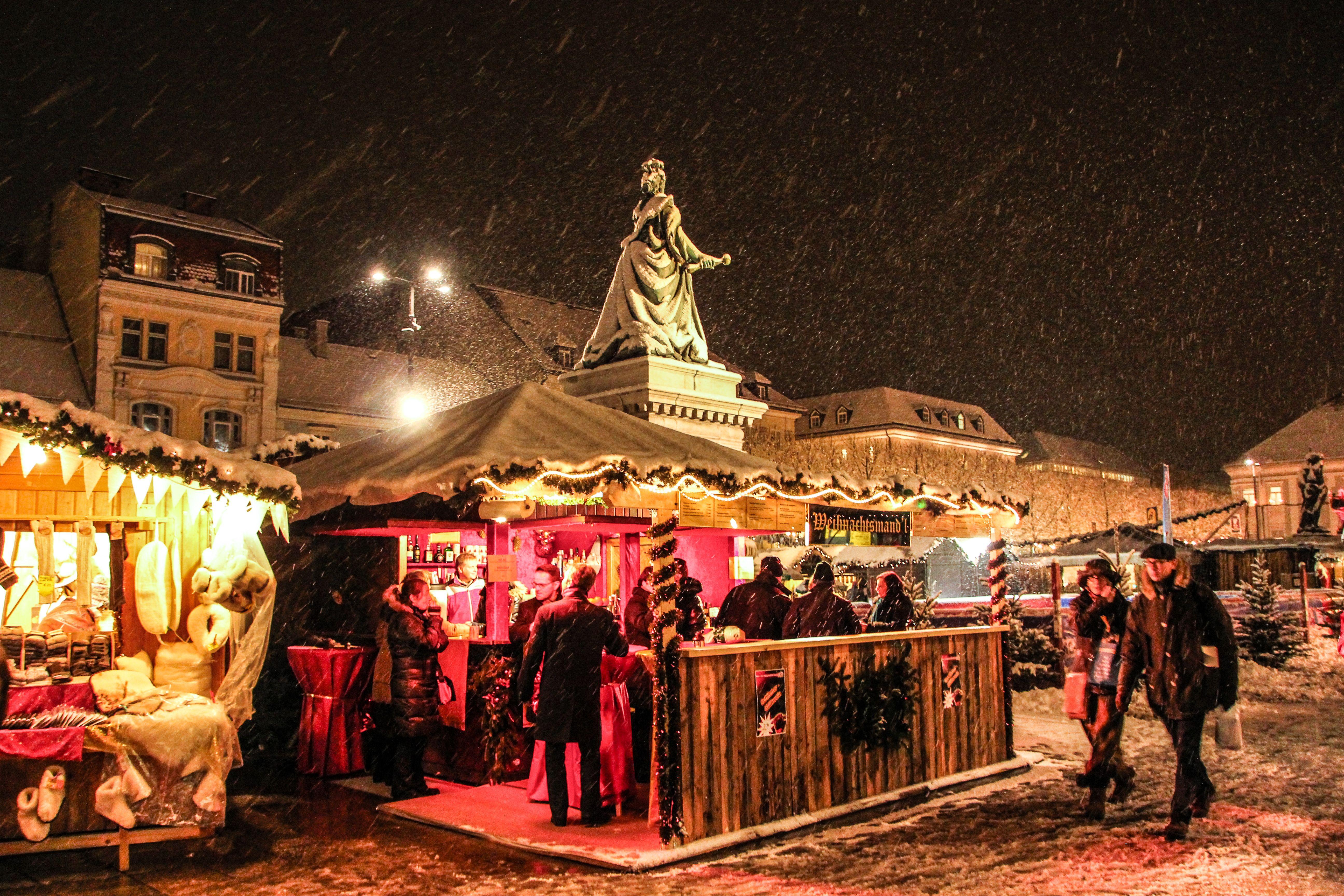 Christmas market in Klagenfurt am Wörthersee. Photo: Wolfgang Handler/Pixelpoint