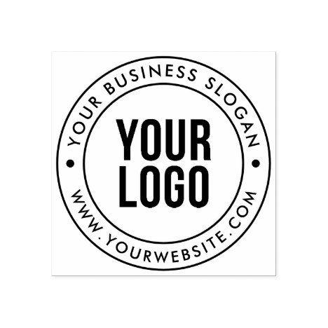 Custom Logo Stamp Custom Rubber Stamp with Logo by 904Custom   Custom Logo Rubber