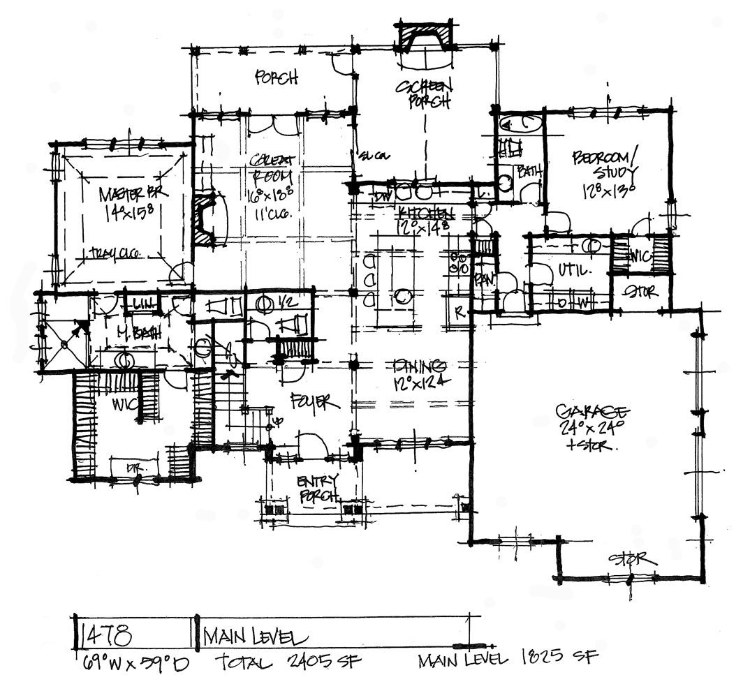 House Plan 1478 (With Images)