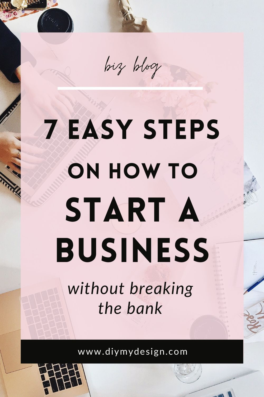 7 Easy Steps on how to start a business without br
