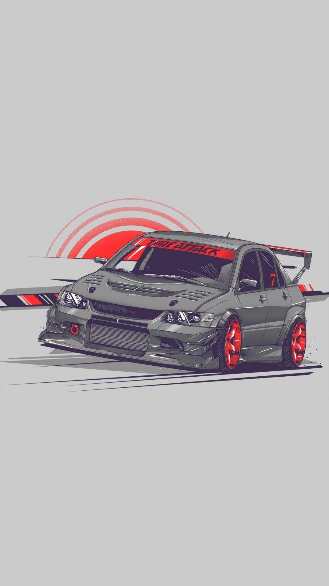 Pin By Saintninja On Cartoon Jdm Car Car Wallpapers Art Cars Tuner Cars