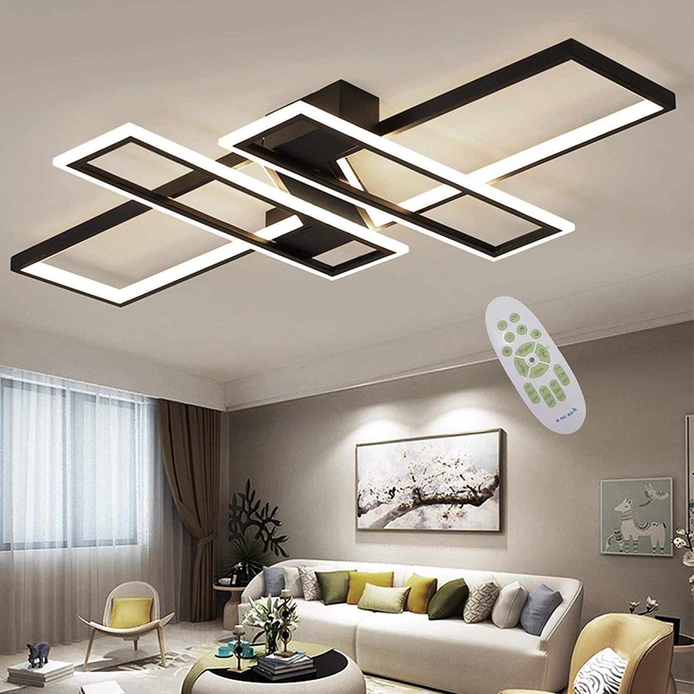 LED Ceiling Light Modern Living Room Light Pendant Light Dimmable