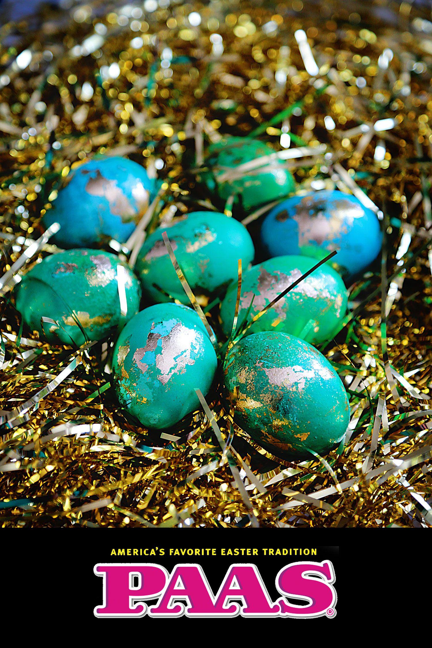 Egg Coloring Kit Metallic