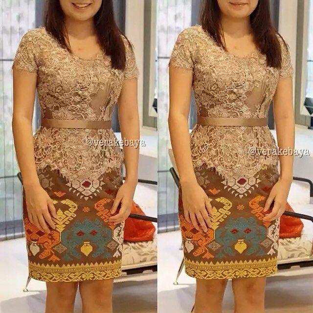 Pin By Larisin On Batik Kebaya Dress Kebaya Lace Kebaya