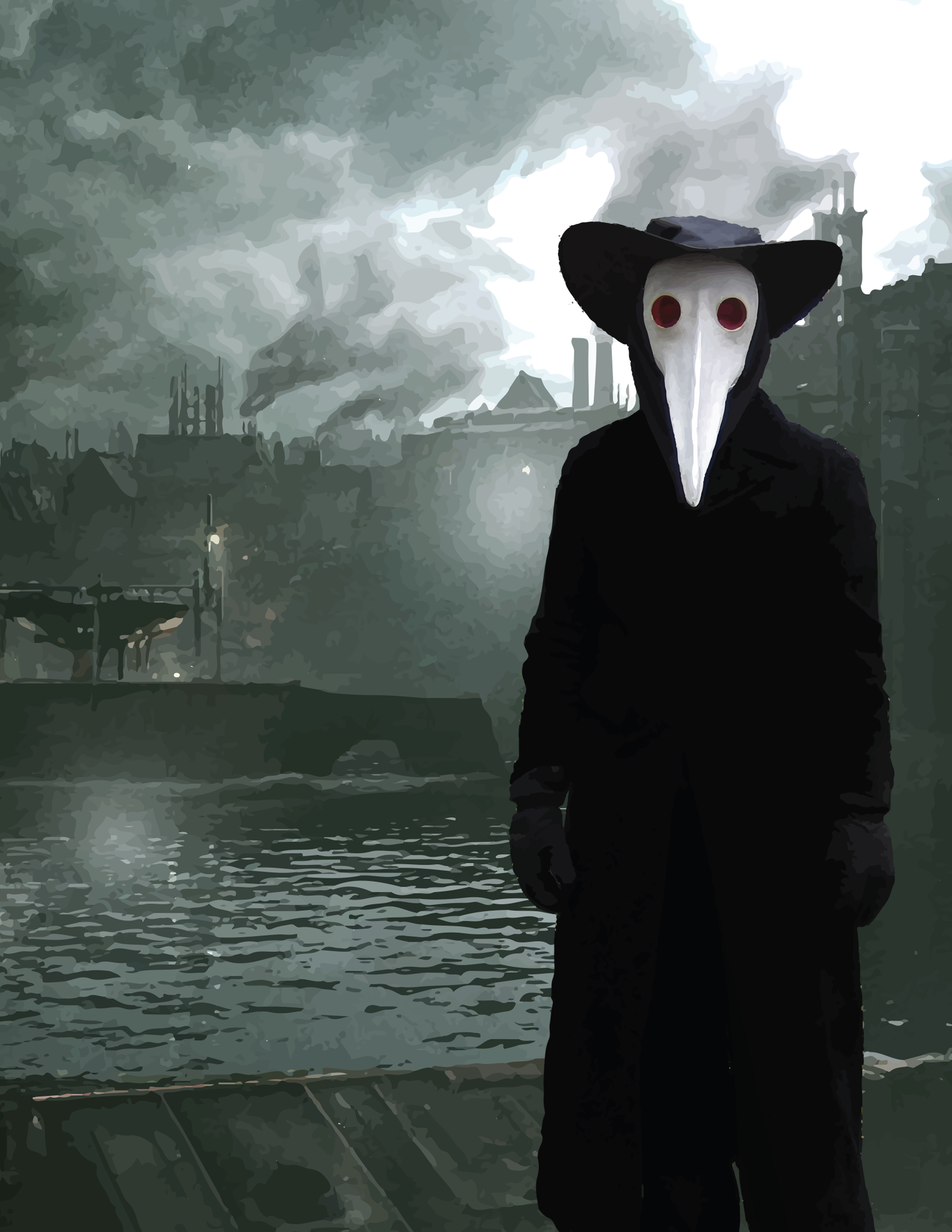 doctor raven | the doctor is in (plague doctor) | Pinterest ...