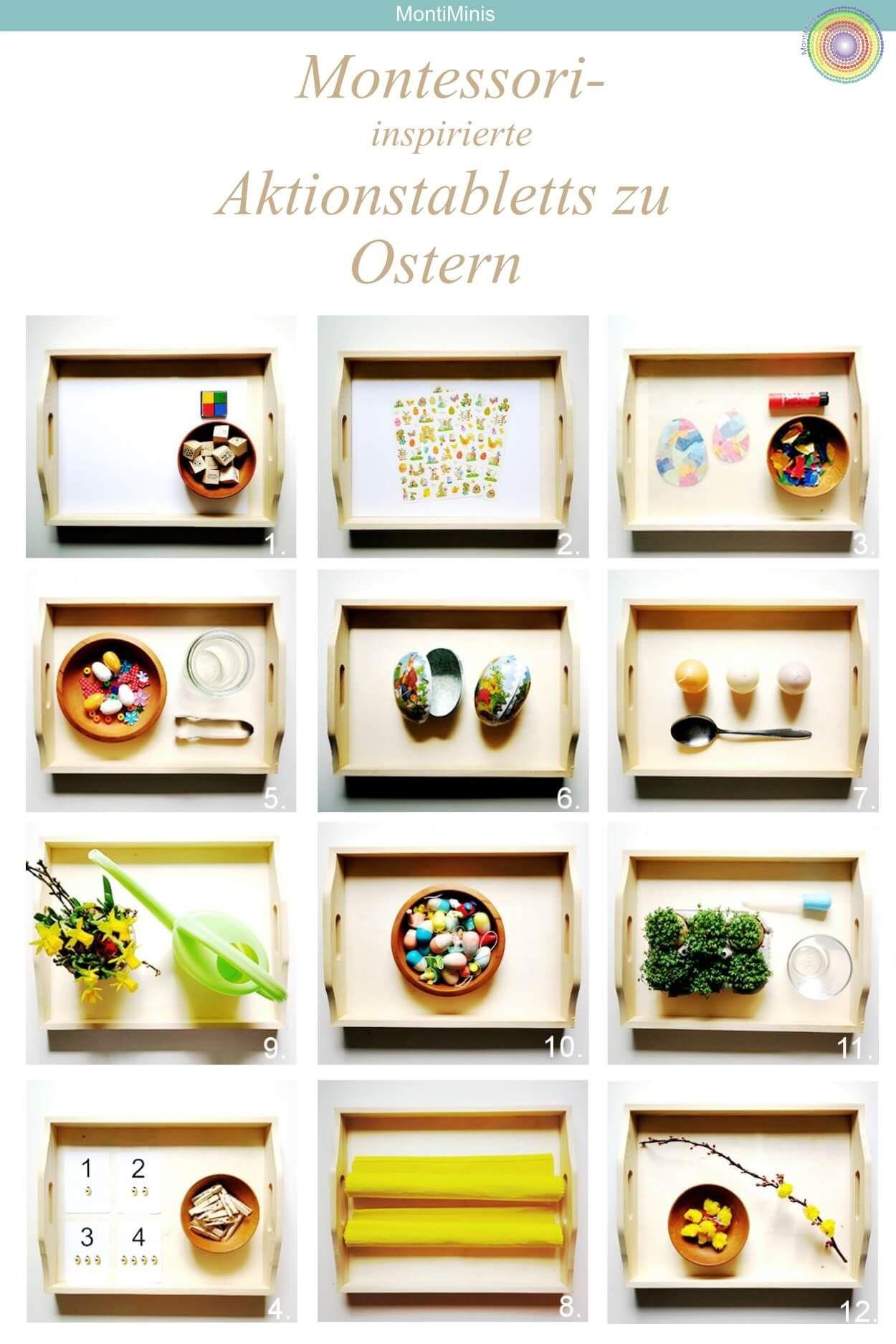 Der Sinnestisch und unsere Top 3 Sinnesboxen Montessori