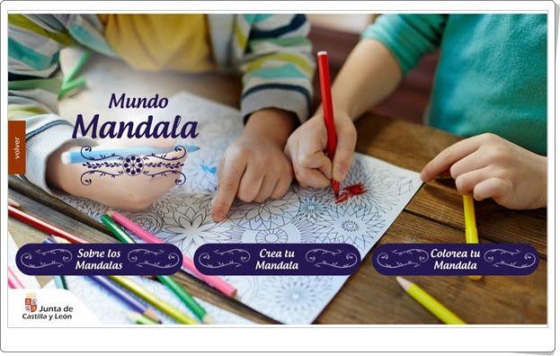 Mundo Mandala Aplicación De Creación De Mandalas En Primaria Mandalas Recursos Didácticos Aprendizaje