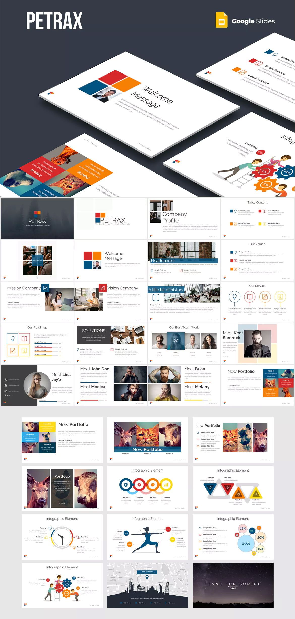petrax google slides presentation template google slide