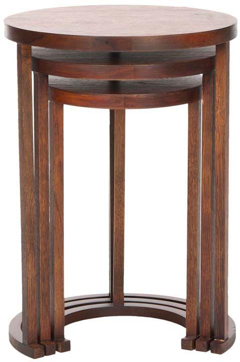 3 Antieke Bijzettafeltjes.Art Deco 3 Deidre Wallace Furnishings Art Deco Furniture Art