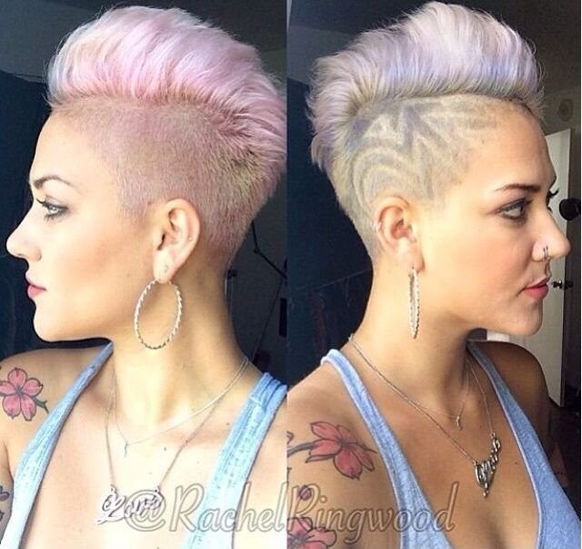 Extreme Frisuren Frauen 35 Best Extrem Kurze Haare Images In