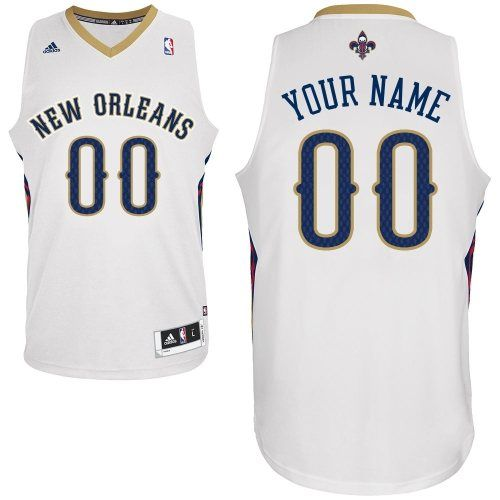 ba6d99e7a ... best price customized white adidas swingman new orleans pelicans  durable polyester men home nba jerseys 4b4fa