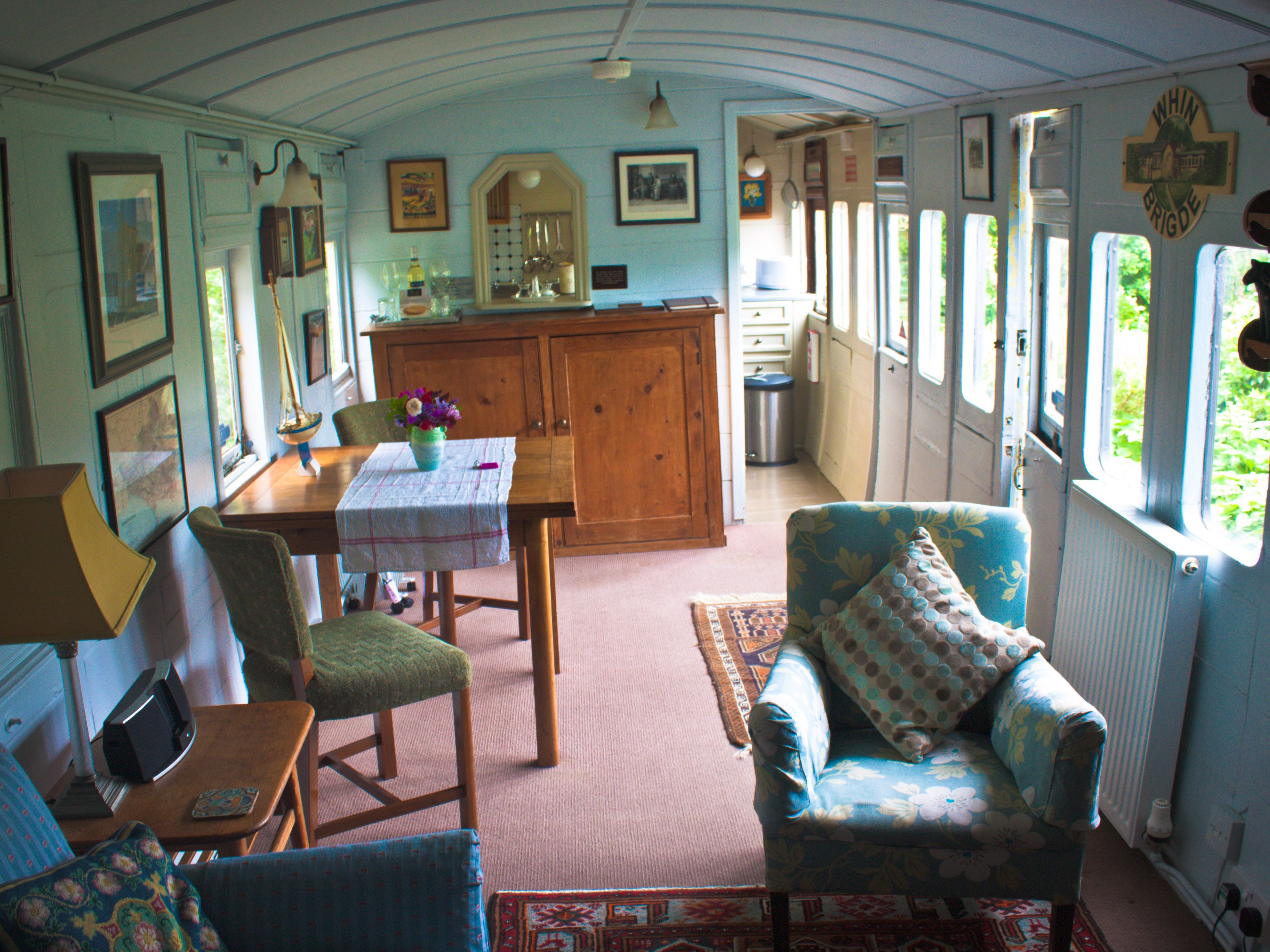 Gorgeous have always wanted a train carriage home