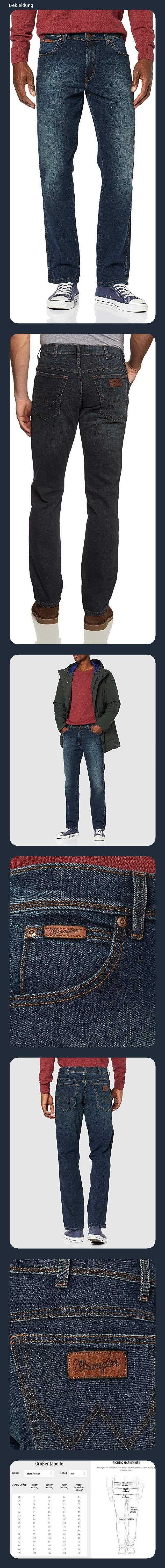 17.12.2019 03:53 Wrangler Herren Texas Contrast' Jeans