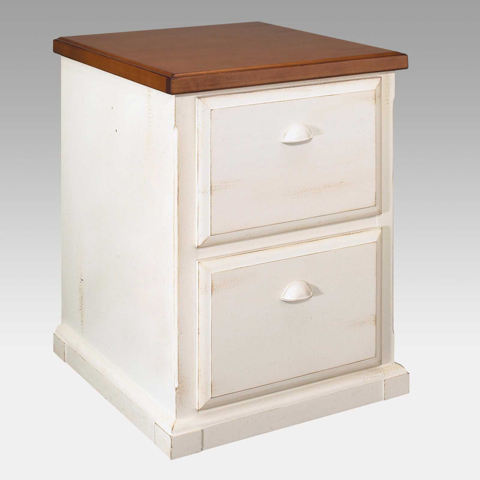 Southampton Two Drawers Vertical White Filing Cabinet Filing Cabinet Martin Furniture Wooden File Cabinet