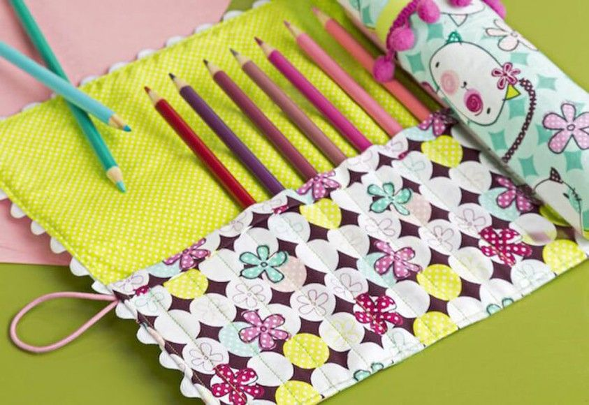 How to Make a Roll-up Craft Tidy   Pinterest