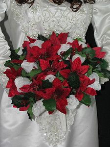 Don T Like These Are Silk But A Good Idea For Christmas Bridal