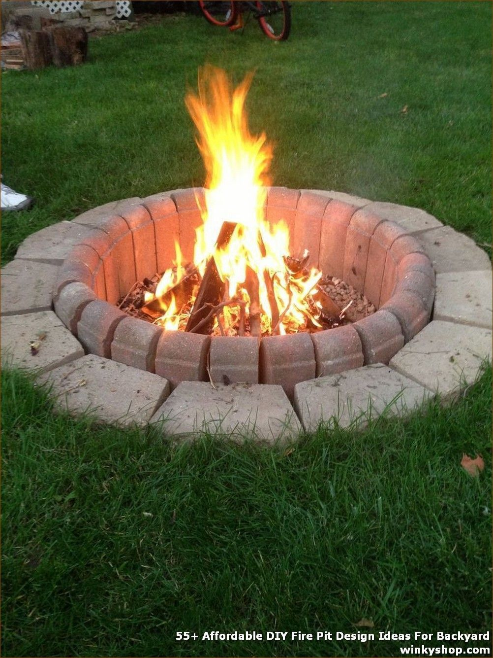 55 Affordable Diy Fire Pit Design Ideas For Backyard Firepitideas 55 Affordable Diy Fire Pit Design Ideas Outside Fire Pits Backyard Fire Rustic Fire Pits