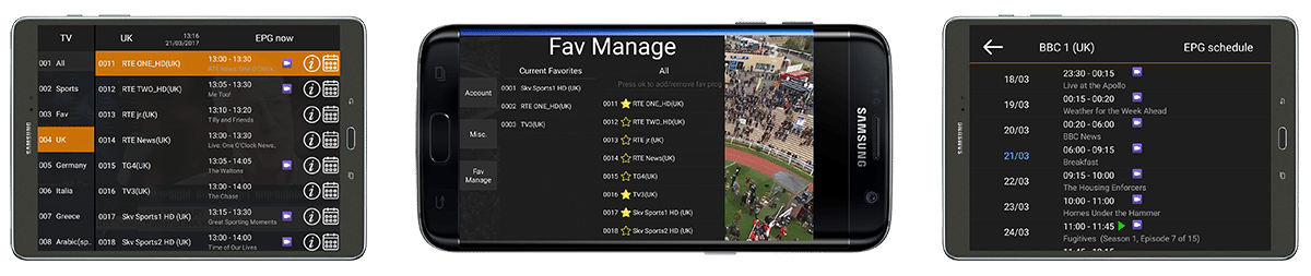 Wizard IPTV Watch Live TV at home or on the go 'ANYTIME