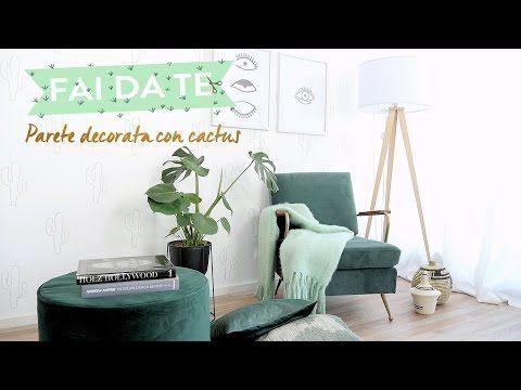 Cactus Arredamento ~ Pareti decorate con stencil a forma di cactus dalani