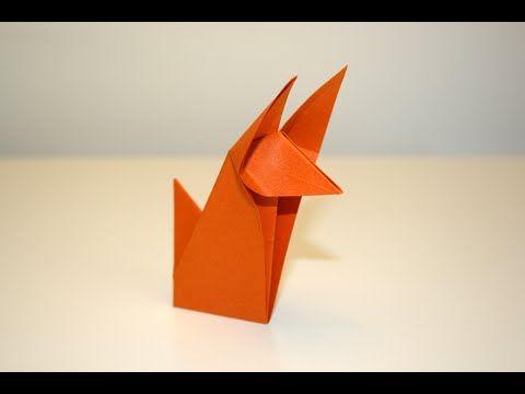 origami renard fox senbazuru youtube origami pinterest origami origami renard et. Black Bedroom Furniture Sets. Home Design Ideas