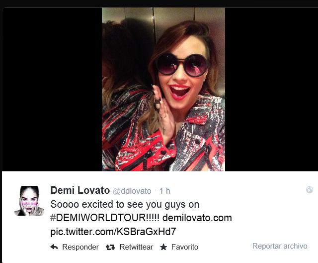 Demi Lovato @Demetria Lovato