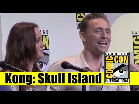 Kong: Skull Island | 2016 Full Panel (Tom Hiddleston, Brie Larson) - YouTube