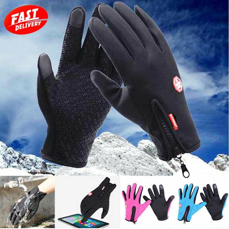 Ad Ebay Waterproof Touch Screen Thermal Gloves Mitten Winter Bike Motorcycle Work Gloves Work Gloves Mitten Gloves