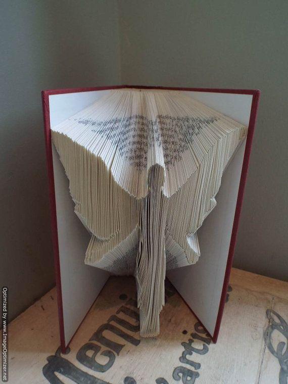 Angel Book Folding Art
