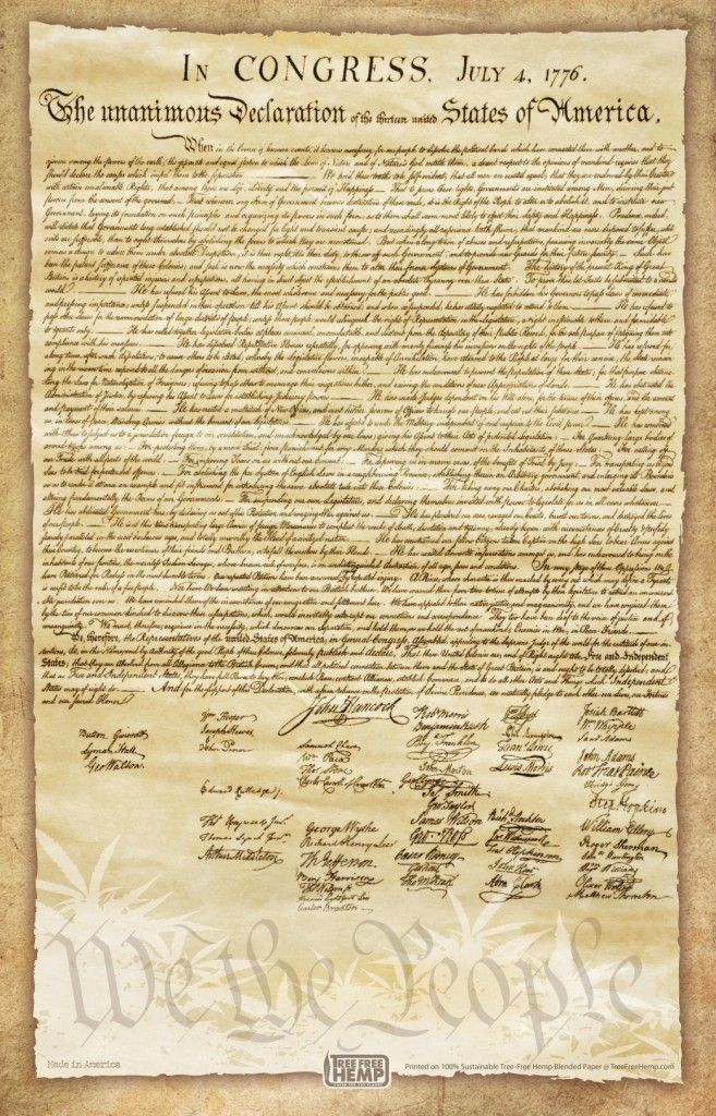 Declaration Of Independence Poster This Amazing Piece Of Writing By