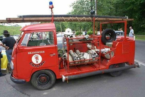 germany fire departament too fire trucks vintage vw bus volkswagen fire trucks vintage vw bus volkswagen