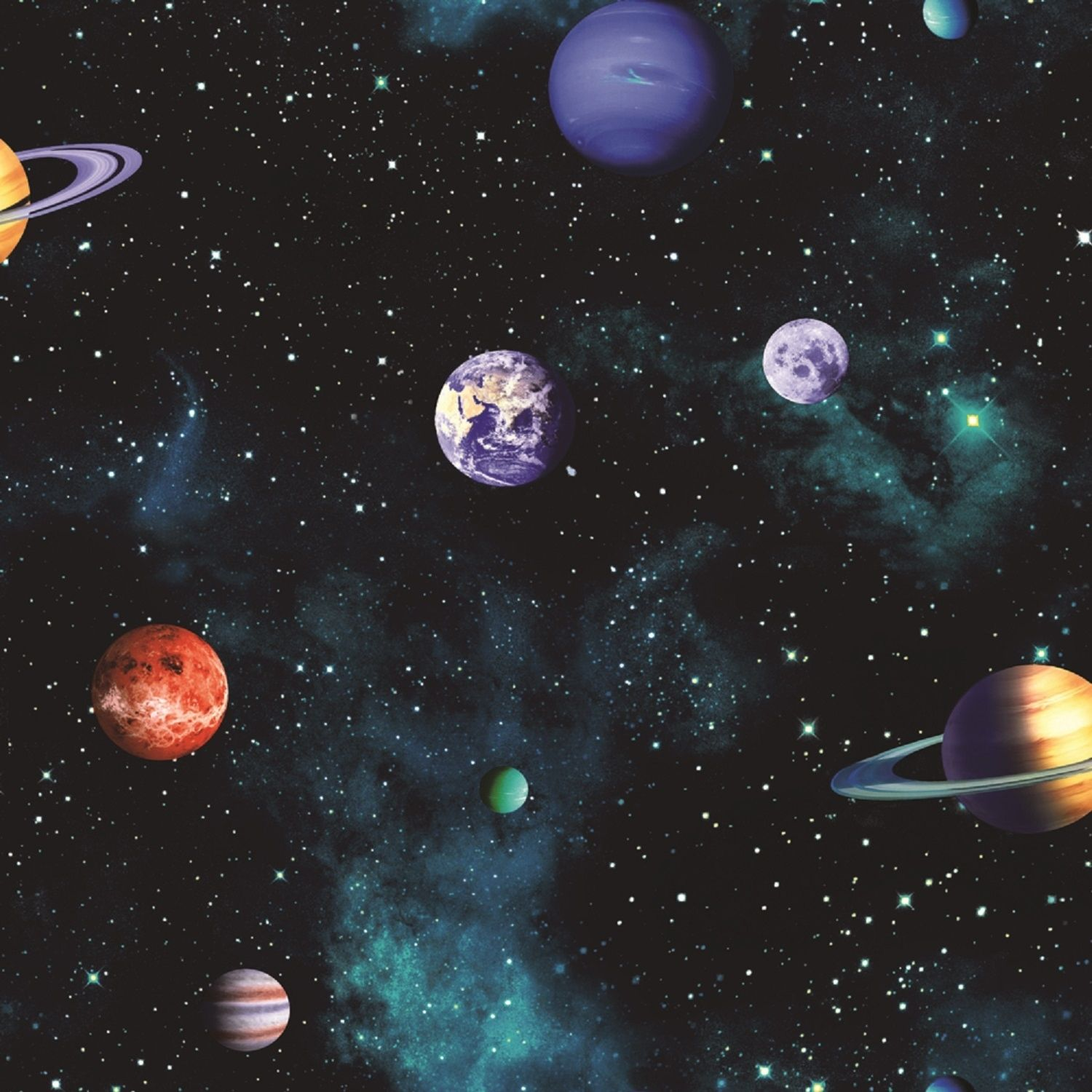 Arthouse Cosmos Wallpaper Outer Space Wallpaper Charcoal Wallpaper Planets Wallpaper