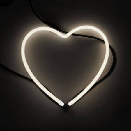 Symbols Neon Light Symbol Heart Bedroom Lighting Neon