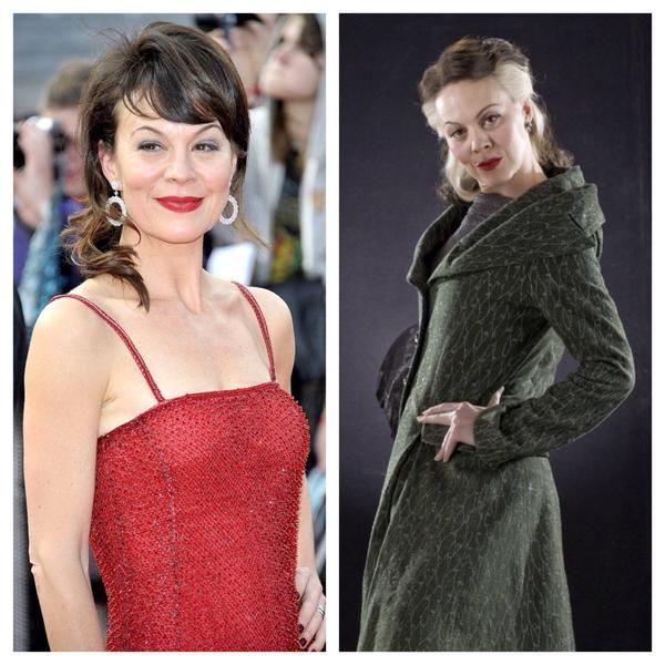 Helen Mccrory She Played Draco S Mother Narcissa Malfoy In The Harrypotter Films Atrizes