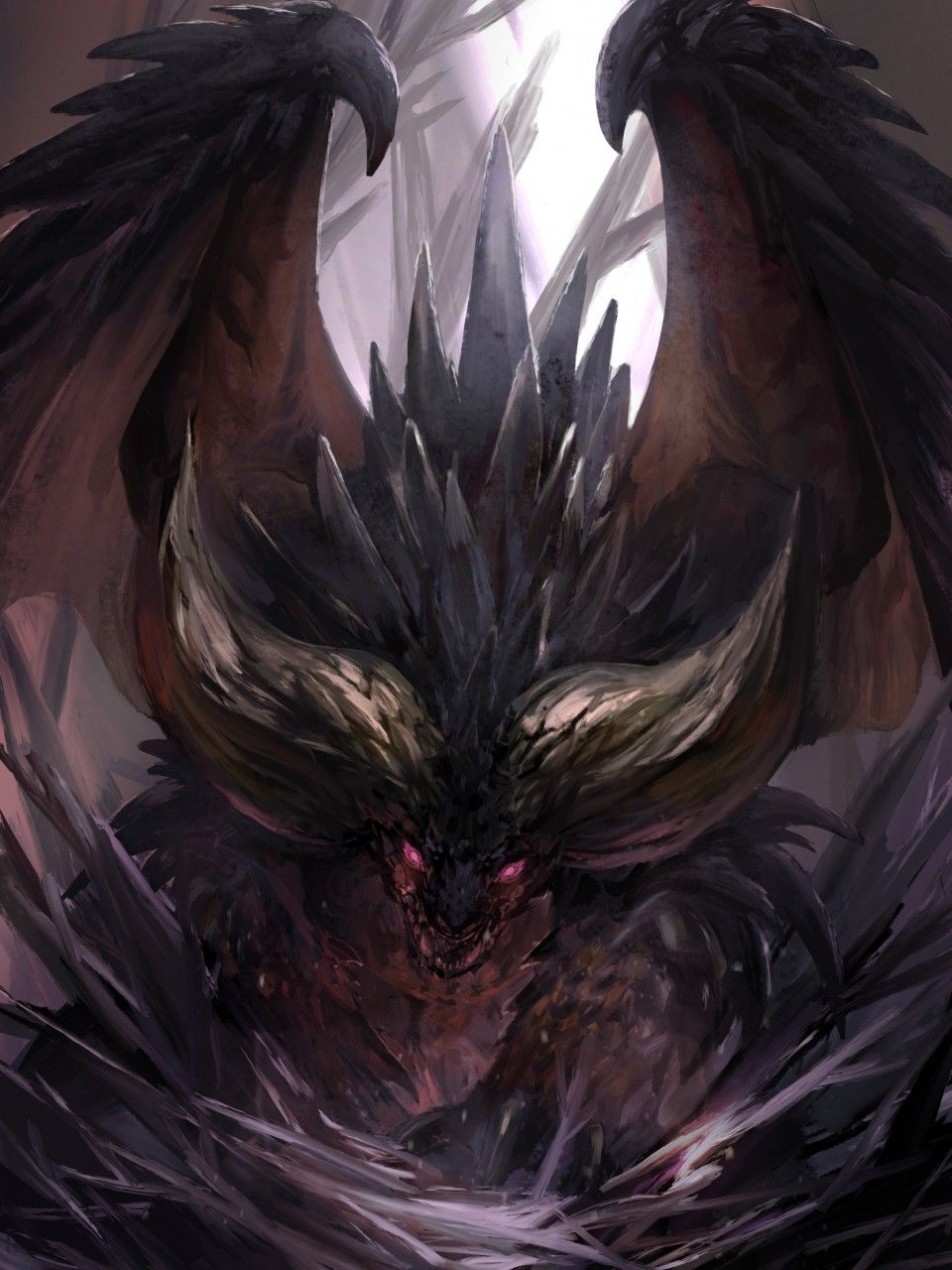 Nergigante By G C06 Monster Hunter World Wallpaper Monster Hunter