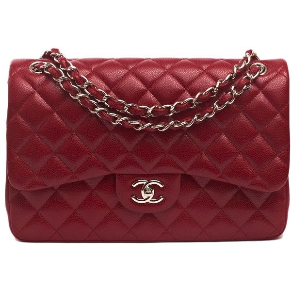 4726faf6f3bf Chanel Handbag   Chanel Rouge Red Caviar Classic Jumbo 2.55 Double Flap Bag  Never Carried