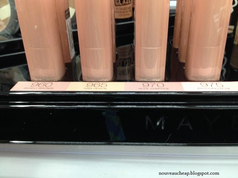 Maybelline Limited Edition Spring 2014 Dare To Go Nude Collection -- four limited edition Color Sensational Nude Lipsticks!