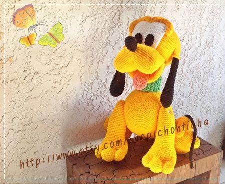 Amigurumi Hund Anleitung Kostenlos Deutsch : Basset hound puppy amigurumi crochet dog pattern pdf amigurumi