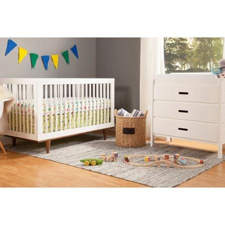 Amazing Baby Mod Marley 3 In 1 Convertible Crib, Choose Your Finish   Walmart