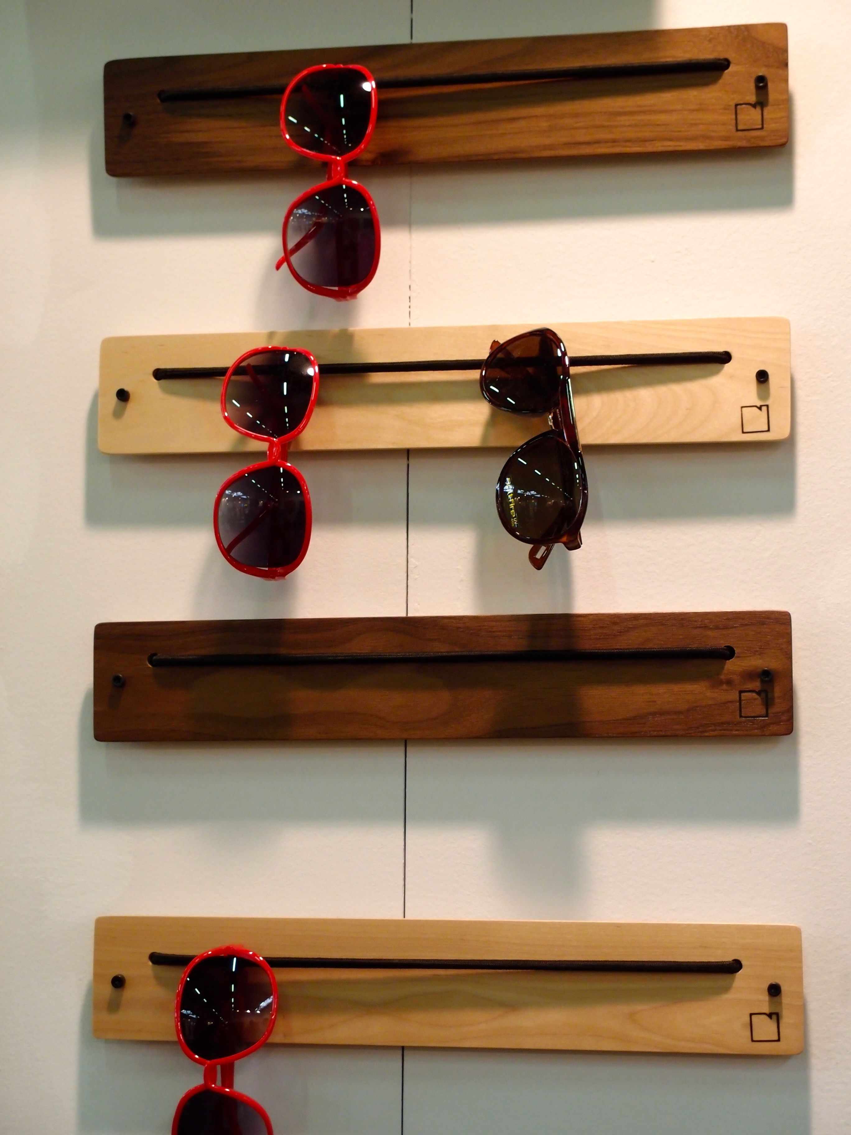 great eyewear rackhttp://boardbydesign | house ideas