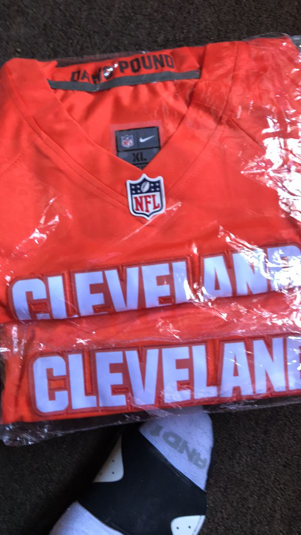 online store 182ad db9be XL Cleveland Browns jerseys Odell Beckham/Baker Mayfield for ...
